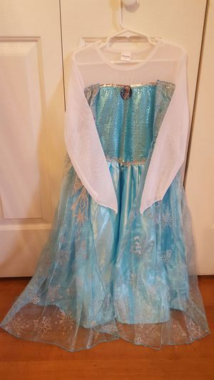 Elsa Ice Queen Dress size Large for Sale in Chesapeake, VA