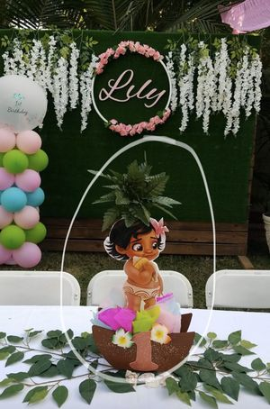 Baby Moana centerpieces for Sale in Chino, CA