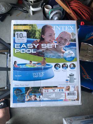 Intex 10ft x 30in Pool for Sale in Seattle, WA