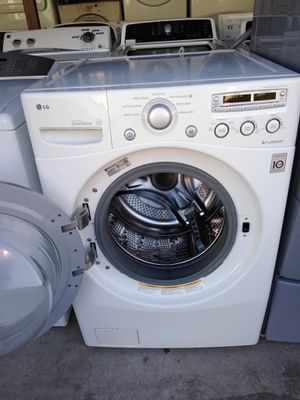 LG washer working great 30 days warranty free delivery and installation on first floor. for Sale in Las Vegas, NV