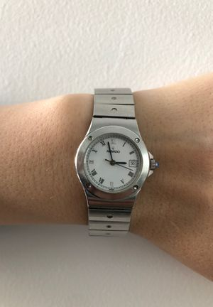 Movado hand watch All steel for Sale in Fresno, CA