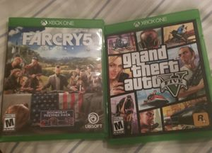 GTA V AND FAR CRY 5 for Sale in Rockville, MD