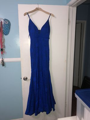 Blue lace prom dress for Sale in Lomita, CA