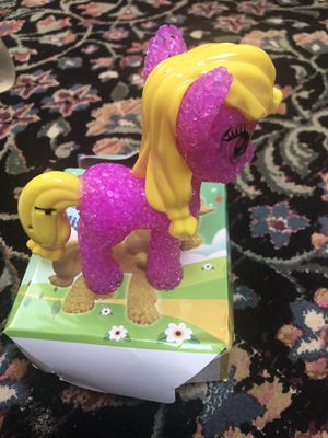 Colorful night led lights pink pony for Sale in Falls Church, VA