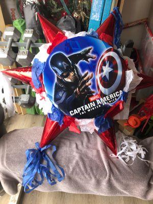 Piñata Captain America for Sale in Huntington Beach, CA