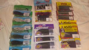 17 packs of custom fishing baits for Sale in Sacramento, CA