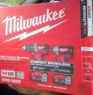 Milwaukee Brushless 2 Tool Combo Kit for Sale in Acworth, GA