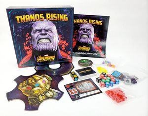 Thanos Rising : Marvel Avengers Infinity War Board Game - USAopoly - 2-4 Players - Ages 10+ for Sale in Trenton, NJ