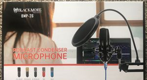 Blackmore podcast condenser Microphone for Sale in Houston, TX