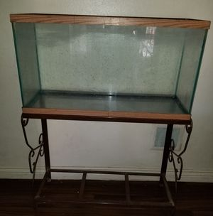 55 gallon fish tank with stand for Sale in Tempe, AZ