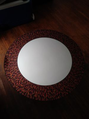 Round Multi-Colored Decorative Wall Mirror for Sale in Long Beach, CA