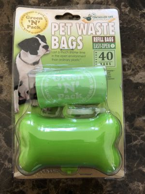 Puppy, dog bag , pet waste bag( 1 for$4 or 3 for $10) for Sale in El Monte, CA