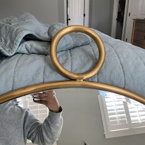 Decorativ Large Round Mirror (Brass) for Sale in Columbia, MD