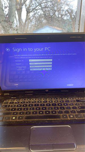 Hp laptop for sale for Sale in Nashville, TN