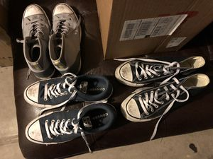 Chuck Taylor's. Converse All Star. All size 9 for Sale in Las Vegas, NV