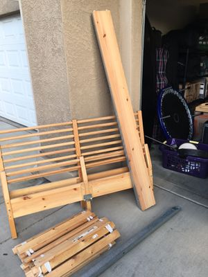 IKEA BED FRAME-FULL SIZE for Sale in Redding, CA