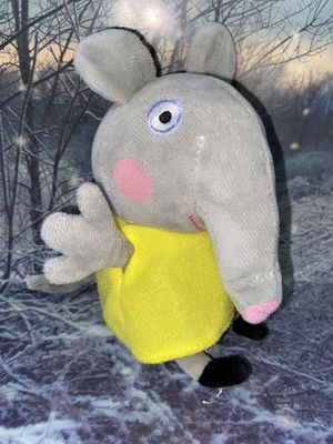 "Nickelodeon TY Peppa Pig - Emily elephant 8"" plush for Sale in Bellflower, CA"