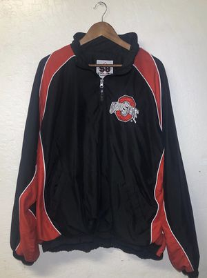 Ohio State windbreakers pull over jacket XXL for Sale in Fort McDowell, AZ