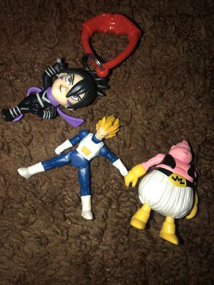 Dragonball z figures + Keychains for Sale in Stockton, CA