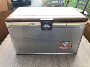 All aluminum ice chest (made in USA) for Sale in Plainfield, IL