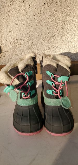 WINTER SNOW/RAIN BOOTS TODDLER ( SIZE 5) PRE-OWNED for Sale in Lynwood, CA