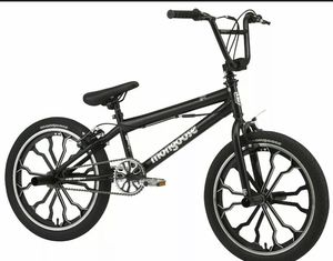 Mongoose Rebel kids BMX bike, 20-inch mag wheels, ages 7 - 13, black💀💀 for Sale in Chicago, IL
