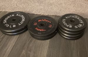 Weights.... 2-10 lbs, 2-7.5 lbs 4-5 lbs for Sale in Durham, NC