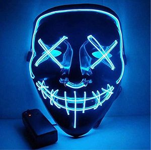 Murrieta (LOS ALAMOS & HANC0CK) PICK UP ONLY ‼️BRAND NEW‼️BRAND NEW‼️ Halloween Mask LED Light Up Purge Mask for Festival Cosplay Halloween Costume. for Sale in Murrieta, CA