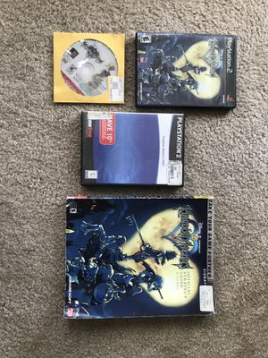 Kingdom Hearts 1 and 2 PS2 for Sale in Irving, TX