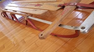 Vintage Flexible Flyer Sled in good condition Made in Medina Ohio for Sale in Columbus, OH