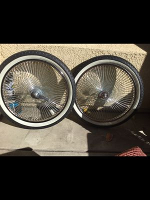 Rims and tires size 20 inch like new for Sale in Chula Vista, CA