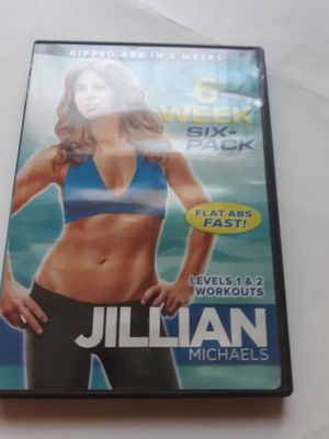 Jillian Michaels 6 week six pack workout dvd for Sale in Lancaster, OH