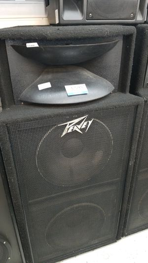 Peavey pair os speakers for Sale in Chicago, IL