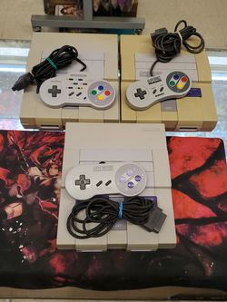 Super Nintendo System $90 Each for Sale in Tampa,  FL