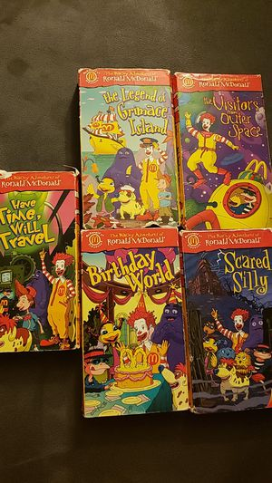 Ronald Mcdonald VHS for Sale in Spring Lake Park, MN