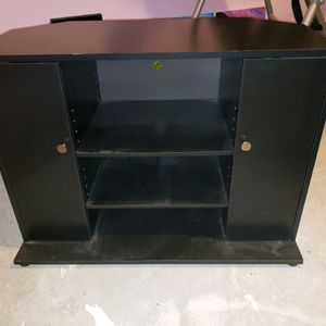 Corner TV Stand - Black for Sale in Raleigh, NC