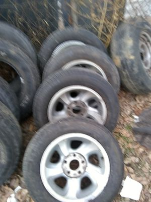 96 to 00 S10 2056515 alloy wheels and tires for Sale in St. Louis, MO