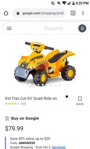 Toddler 4 wheeler for Sale in San Antonio, TX
