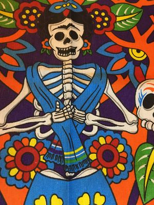 Day of the Dead La Catrina Apron - Mandil de Dia de Muerto for Sale in Chicago, IL