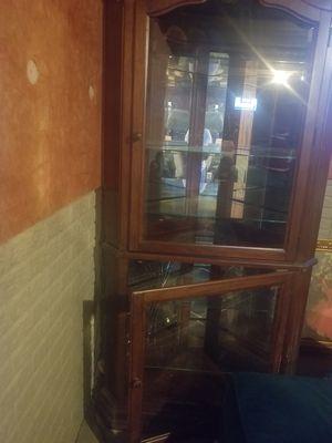 Corner Curio Cabinet for Sale in Columbus, OH