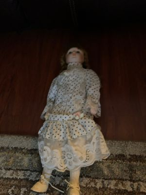 Porcelain antique doll for Sale in Carson, CA
