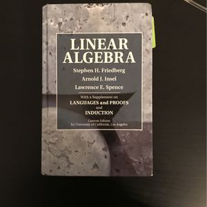 Linear Algebra UCLA Book for Sale in Altadena, CA