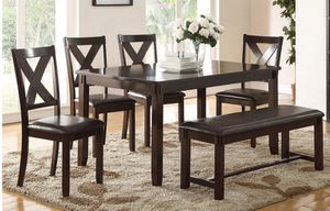 6 PC Dining Table Set New for Sale in Margate, FL