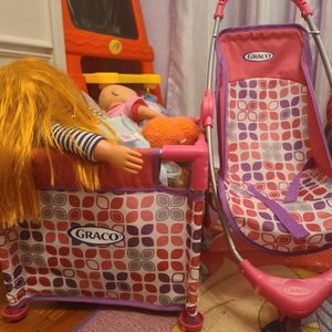 Graco Baby Stroller and Crib Playset for Sale in Fort Lauderdale, FL