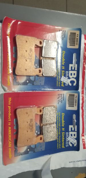 EBC Brakes Double H Sintered 2 sets for motorcycle for Sale in San Gabriel, CA