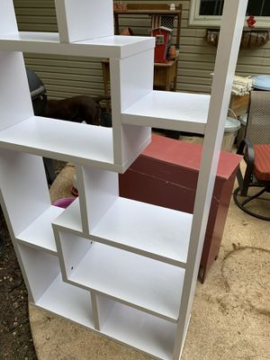 White book shelf for Sale in House Springs, MO