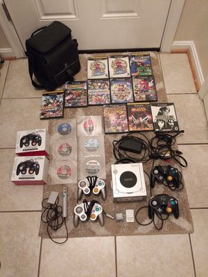 Nintendo GameCube Bundle With Games and Controllers for Sale in Frederick, MD