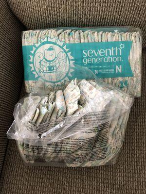 Seventh Generation Diapers Newborn for Sale in Sunrise, FL