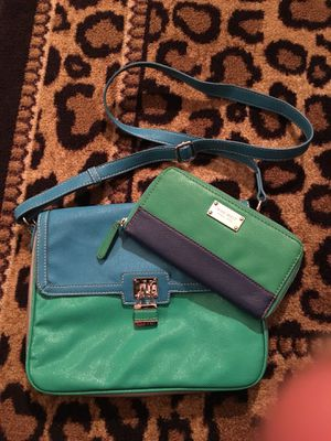 Nine West Crossbody Purse with Matching Wallet for Sale in Columbus, OH