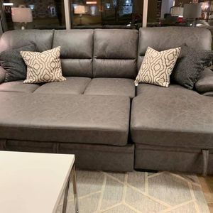 Sleeper Sectional With Storage Chaise(Modern Home Furniture ) for Sale in Everett,, WA
